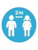 School Social Distance Markings