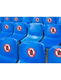 Social Distance Seat Markers - Labels Only