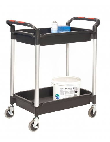 """GPC """"Proplaz Plus"""" Trolley with deep shelves"""