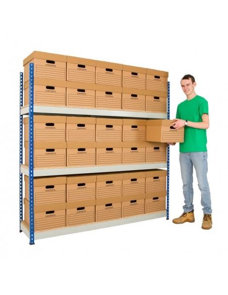 Archive Racking (Single Box Deep)