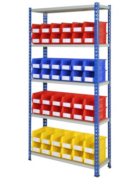 J Rivet Bay With Storage Bins