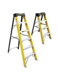 GPC - Glass Fibre Swingback Stepladders